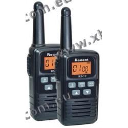 RECENT - RS-12 - PMR446 (2 pièces) - 0,5 W