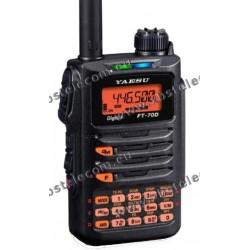 Yaesu - FT-70DE - C4FM/FM 2m/70cm Dual Band Handheld