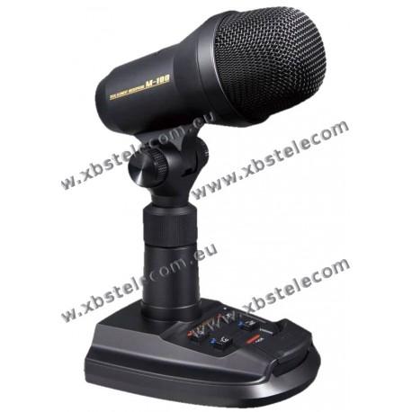 YAESU - M-100 - Micro de table Dynamic & Condenser