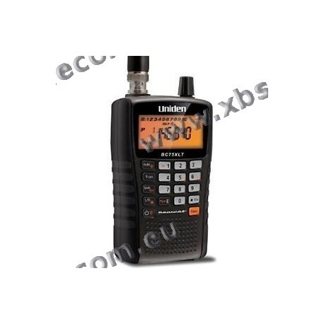 BEARCAT - UBC-75XLT - Handheld scanner 300 channel