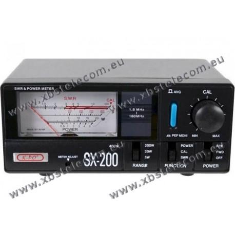 KPO - SX-200 SWR/PWR 1.8Mhz to 160 MHZ - 400W