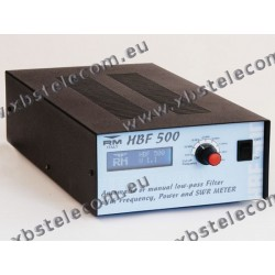 RM Italy - HBF-500 - Low-Pass Filter/Freq. Counter/Power-SWR Meter