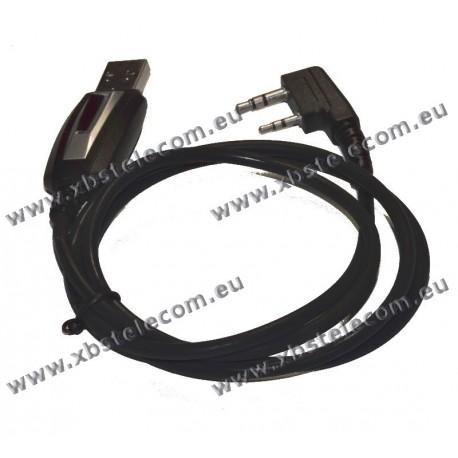 XBS - Câble de programmation USB pour Portable Wouxun/Kenwood
