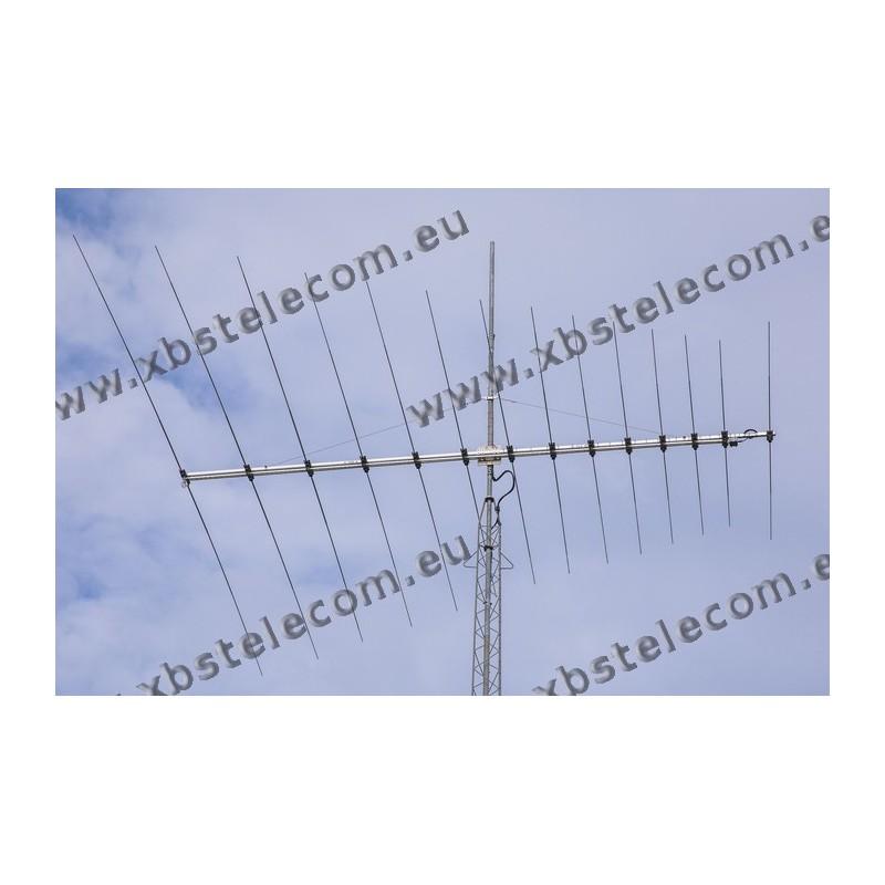 Optibeam - OBLY14-4 - 14 Element Log Yagi 17-15-12-10m - XBS TELECOM s a