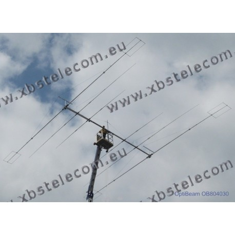 Optibeam - OB804030-Triband-Yagi 80-40-30m-80 (multi switch)