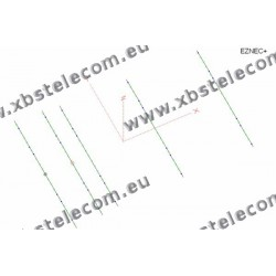 Optibeam - OB5-12 - 5 Element Monoband Yagi 12m - 12