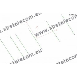 Optibeam - OB6-10 - 6 Element Monoband Yagi 10m - 10