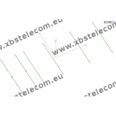 Optibeam - OB6-10 - 6 Element Monoband Yagi 10m - 10
