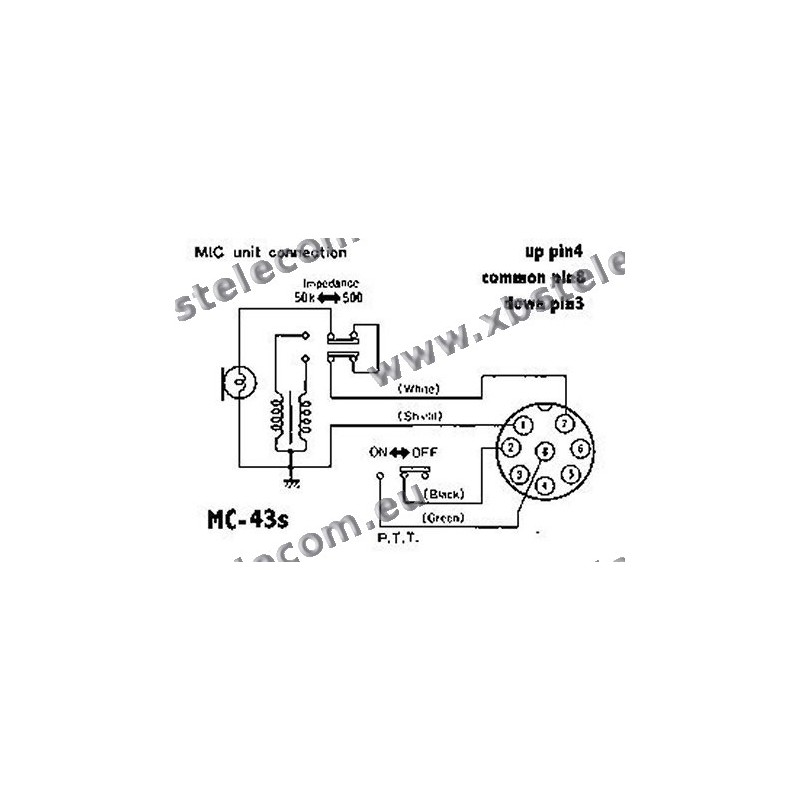 mics for kenwood mc 43s wiring diagram