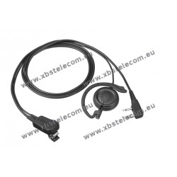Kenwood - EMC-12W - Clip Microphone / Earphone and PTT