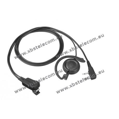 Kenwood - EMC-12W - Clip Microphone / Earphone and PTT