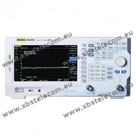 RIGOL - DSA-832E - Analyseur de spectre 3,2 GHz