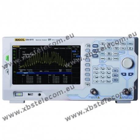 RIGOL - DSA-832-TG - Analyseur de spectre 3,2 GHz / tracking