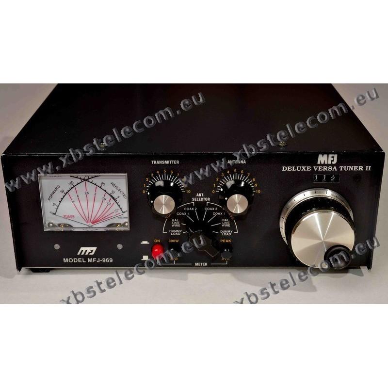 MFJ - MFJ-969 - 300W - Dummy load 4:1 - 8 positon(s) Antenna - XBS TELECOM  s a