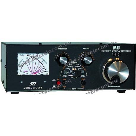 MFJ - MFJ-969 - 300W - Tuner/Dummy load 4:1 - HF + 50 MHZ - XBS TELECOM s a