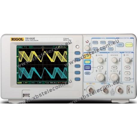 RIGOL - DS-1052E - Oscilloscope numérique 2x50 Mhz 1Ge/s 1Mo