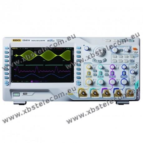 RIGOL - DS-4014 - OSCILLOSCOPE 4X100MHZ ECRAN 9P 4GE/S