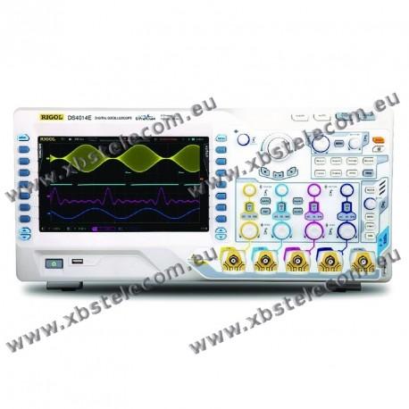 RIGOL - DS-4014E - OSCILLOSCOPE 4X100MHZ ECRAN 9P 4GE/S