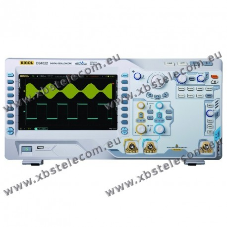 RIGOL - DS-4022 - OSCILLOSCOPE 2X200MHZ ECRAN 9P 4GE/S