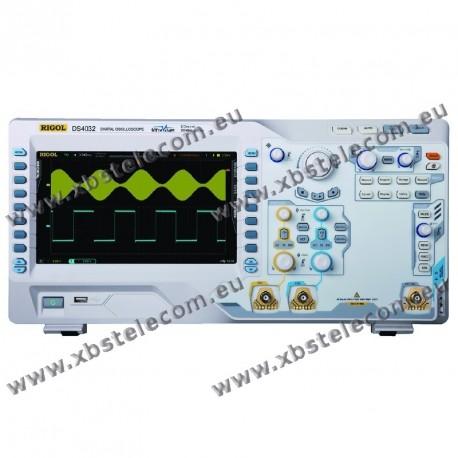 RIGOL - DS-4032 - OSCILLOSCOPE 2X350MHZ ECRAN 9P 4GE/S
