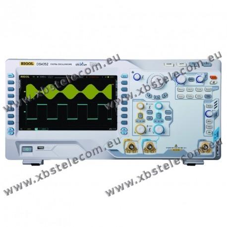 RIGOL - DS-4052 - OSCILLOSCOPE 2X500MHZ ECRAN 9P 4GE/S