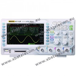 RIGOL - MS-01104Z - OSCILLOSCOPE 4X100 MHZ + ANALYSE LOGIQUE