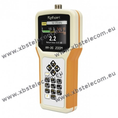 RigExpert - AA-35ZOOM - 0.06 - 35 MHz - 25, 50, 75 & 100 Ω