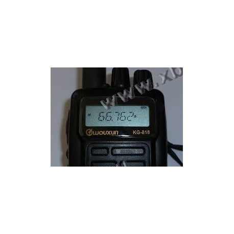 WOUXUIN - KG-818 4M - 66-88 MHz