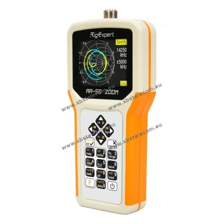 RIGEXPERT - AA-55Zoom - 0.06 - 55 MH - Englih Manual