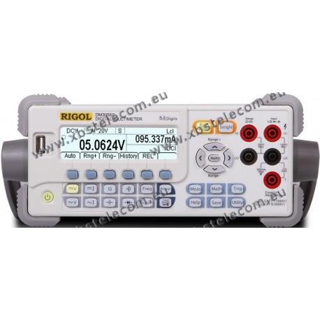 RIGOL - DM-3058E - Multimètre de table 200 000 pts USB - RS232