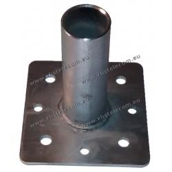SPID - Plateforme d'adaptation bas moteur Mat Diam 68 vers Cage Pylone ou sol