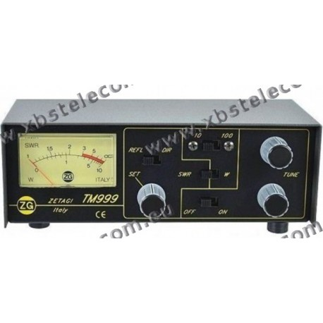 ZETAGI - TM-999 - SWR/PWR MATCHER 26-28 MHZ 100 W AM