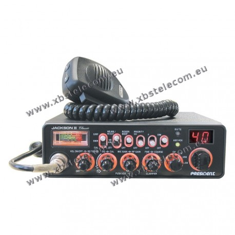 PRESIDENT - JACSON-II - Multi Channel AM / FM / LSB / USB