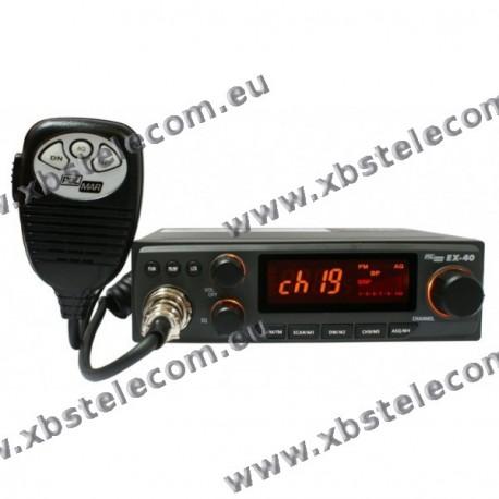 POLMAR - EX-40 - 40 Channel AM / FM Transceiver