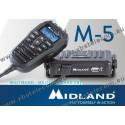 MIDLAND - M-5 - Multi Channel CBMobile Transceiver W/ Remote