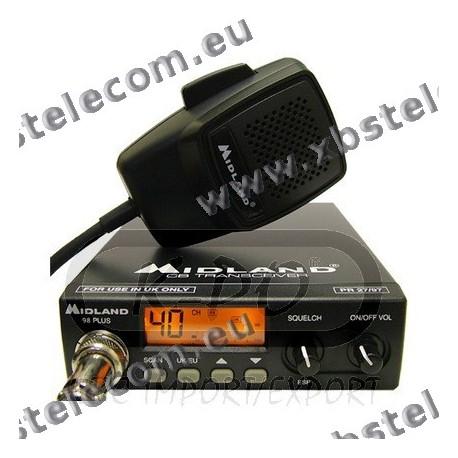 MIDLAND - 98-E -  40 Channel FM radio