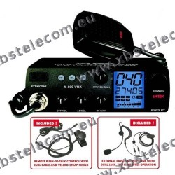 INTEK - M-899VOX - Multi Channel CB Mobile Transceiver