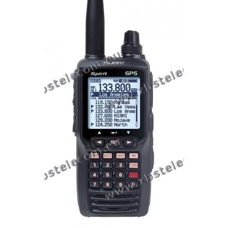 YAESU - FTA-750L - Portable aviation TRX w/ ILS & VOR & GPS
