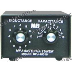 MFJ - MFJ-16010 - Tuner pour l'alimentation d'extrémité des antennes filaires 200Watt PEP