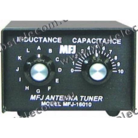 MFJ - MFJ-16010 - Tuner for 200 Watt PEP wire antennas - XBS TELECOM s a