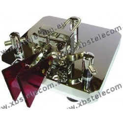MFJ - MFJ-564 - double clé télégraphique paddle MFJ-564 Crome Iambic