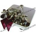MFJ - MFJ-564 - Dual paddle Tasto telegrafico Cromo