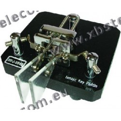 MFJ - MFJ-564B - noir, -Key télégraphie paddle double Iambic