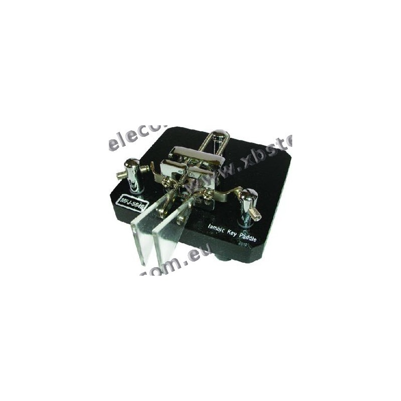 MFJ - MFJ-564B - noir, -Key télégraphie paddle double Iambic - XBS TELECOM  s a