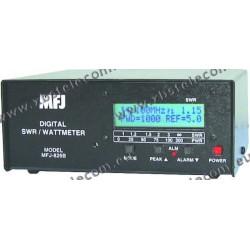 MFJ - MFJ-826 - SWR WATTMETER DIGITAL 1500 WATT FRÉQUENCE