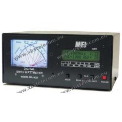 MFJ - MFJ-828 - SWR WATTMETER DIGITAL 1500 WATT FREQUENCE