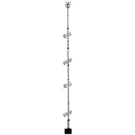 HY GAIN - AV-18AVQ - Antenna verticale 5 bande 10, 15, 20, 40, 80 metri
