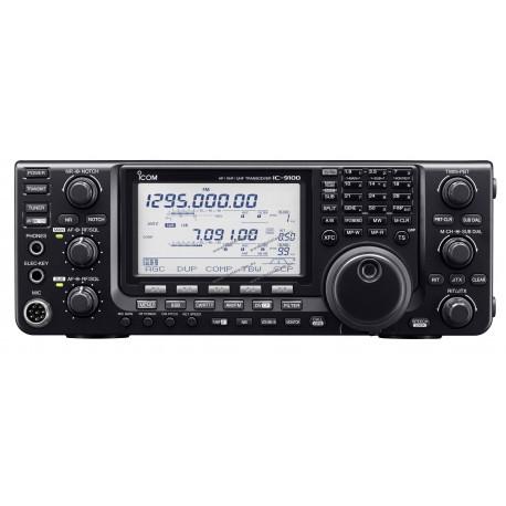 ICOM - IC-9100 - HF/VHF/UHF multi-bandes - HF/50MHz 100W et D-STAR en option