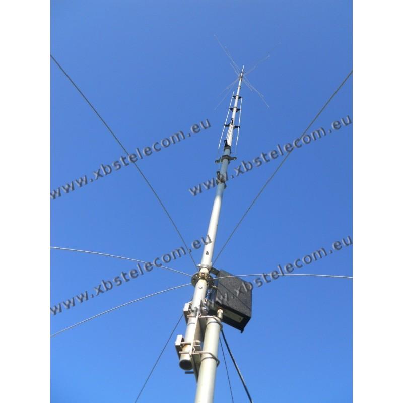 HY GAIN - AV-640 - antenne verticale 8 mètres 40/30/20/17/15/12/10/6 bandes  - XBS TELECOM s a