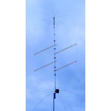 HY GAIN - AV-680 - Antenna verticale 9 bande 80/40/30/20/17/15/12/10/6 metri